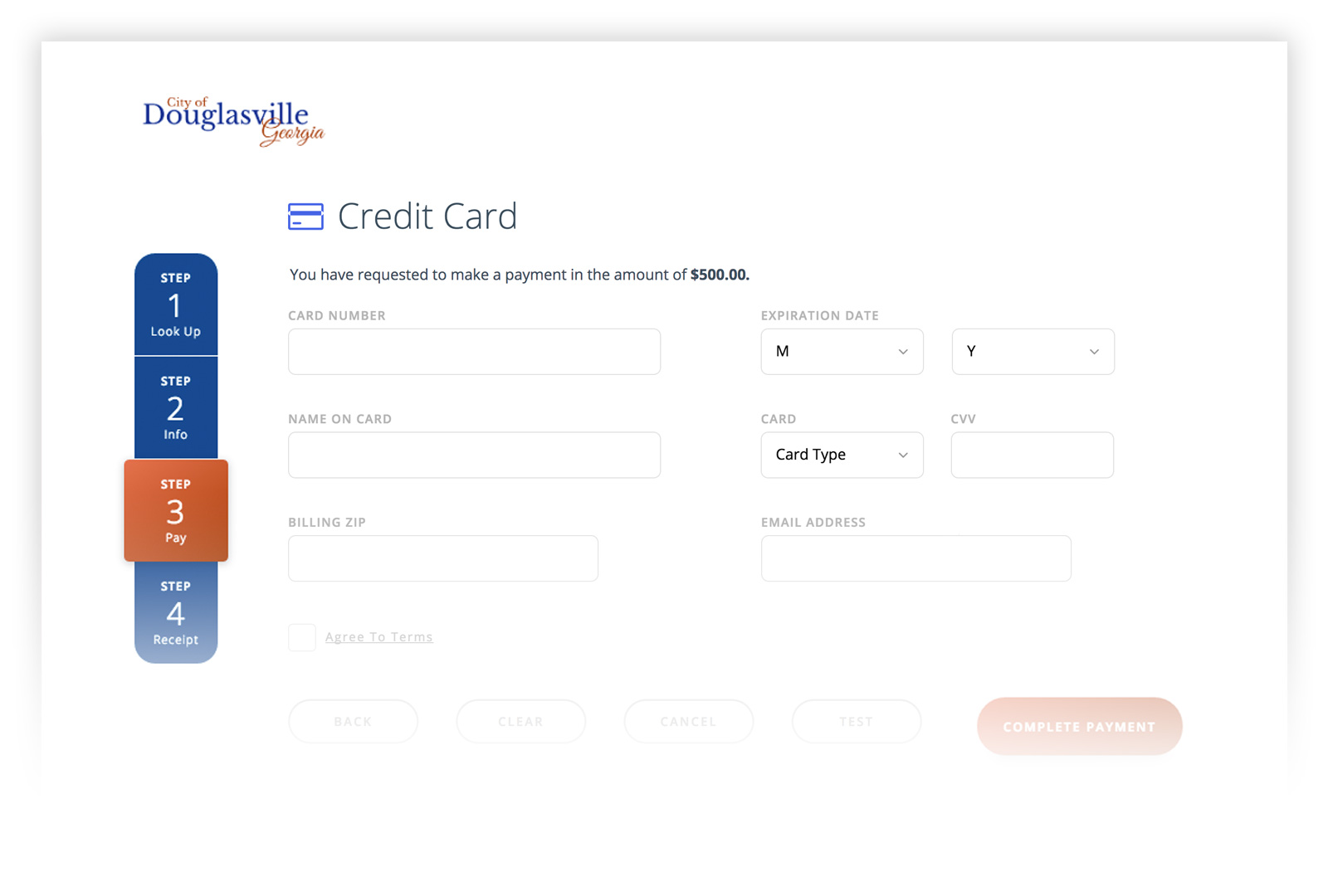 White Labeled Payment Pages